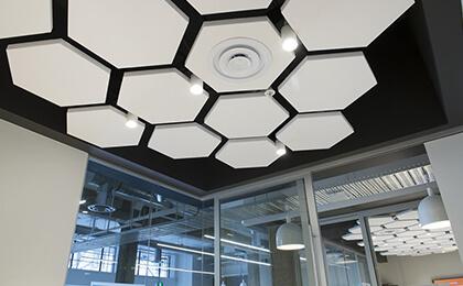 akustik yüzer tavan paneli fiyatları