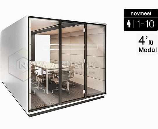 10 kişilik akustik toplantı odası kabini