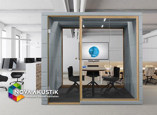 açık ofis toplantı kabini