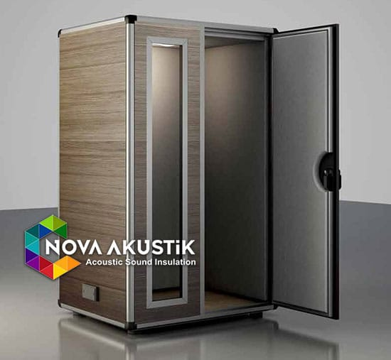 acoustic booth soundproof musical dark stratos