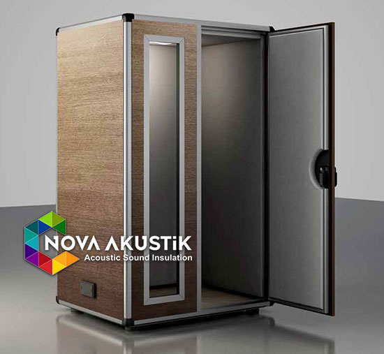 acoustic booth soundproof musical oak stratos