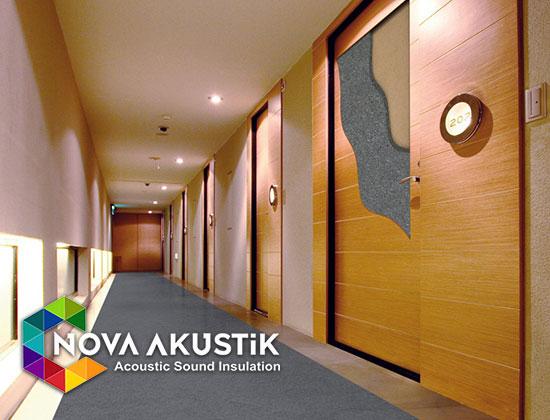 akustik ahşap ses yalıtımlı kapı
