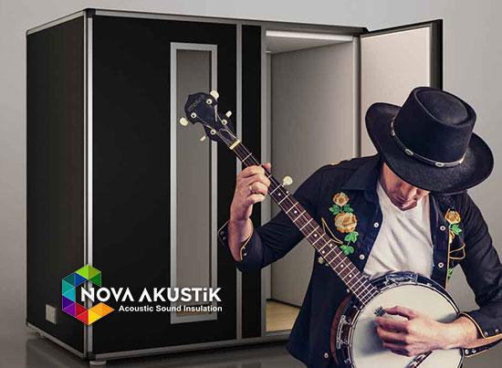akustik banjo odası müzik aleti çalgı kabini
