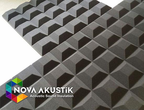 akustik kesik piramit sünger fiyatları