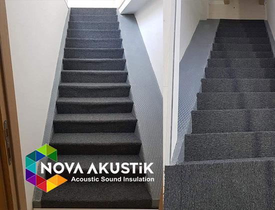 akustik merdiven halısı
