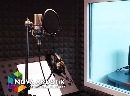 akustik ses kayıt odası kabini fiyatları