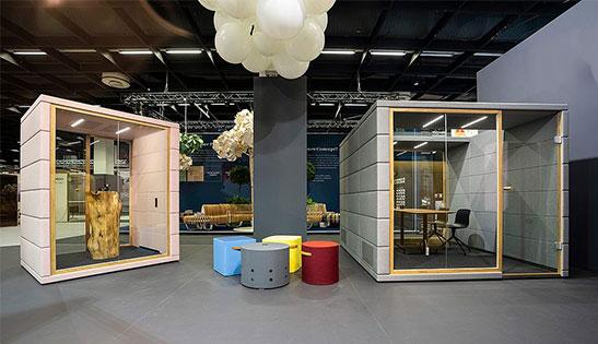 akustik toplantı odası kabini modülü meeting pods