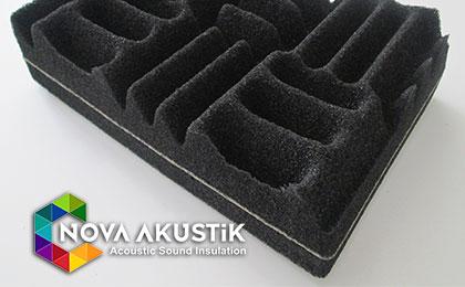 bariyerli yanmaz akustik sünger fiyatları nova akustik