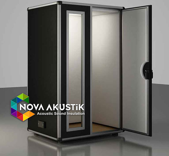 acoustic booth soundproof musical black stratos