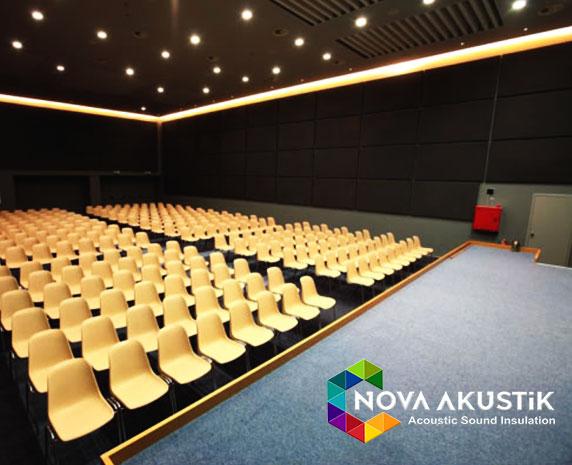 Konferans Salonu Akustik Panel Kaplama