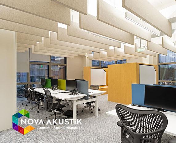 ofislerde kullanılan akustik malzemeler