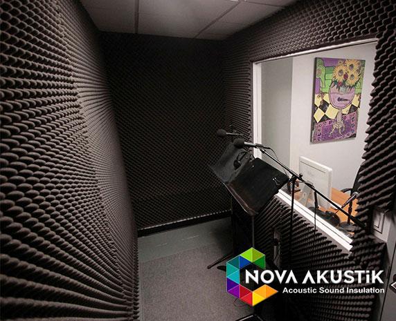 Vocal Ses Kayıt Odası Akustik Yalıtım Malzemeleri