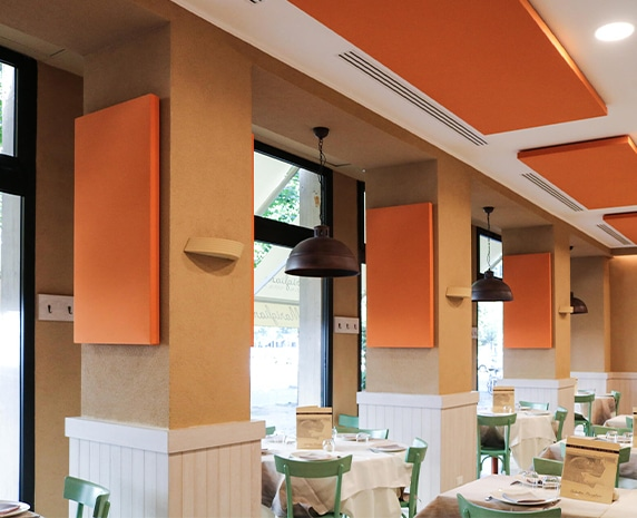 restoran akustik düzenleme